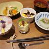 秋の和御膳と鮭フライ定食
