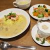ホワイトカレーと韓国料理